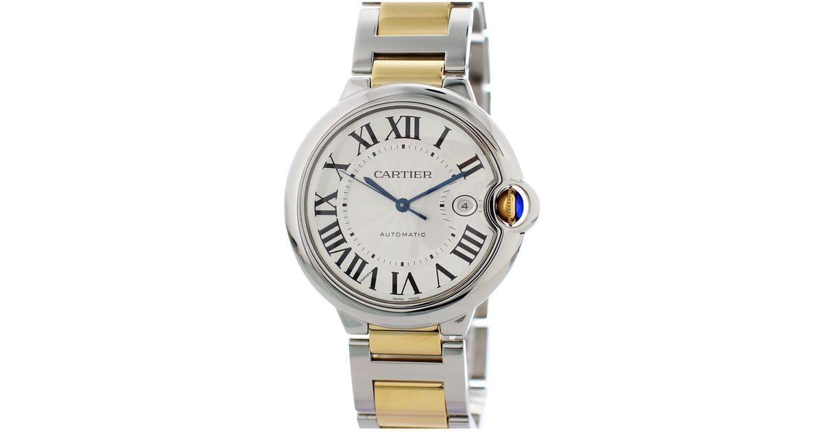 59d6af5ef0c Cartier Ballon Bleu Watch in Metallic for Men - Lyst