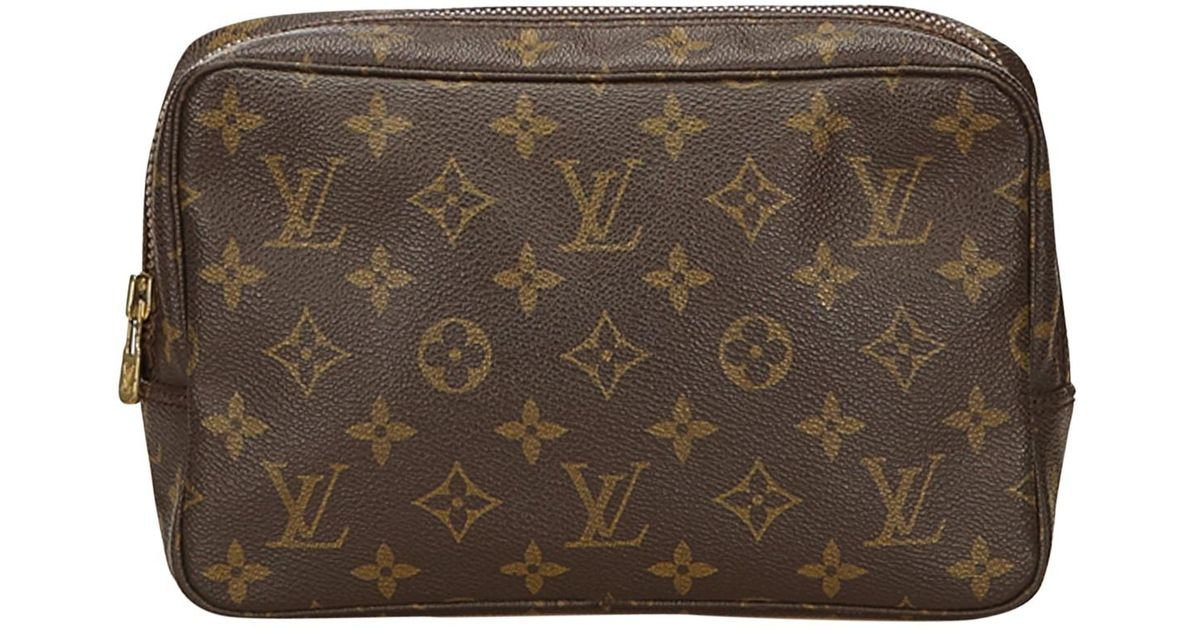 Louis Vuitton Pre-owned - Cloth vanity case Zs64elS