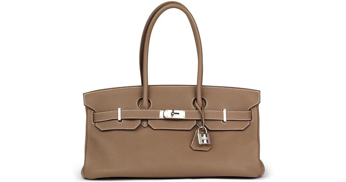 Hermès Pre-owned - Birkin Shoulder leather handbag ZrRo13oPY
