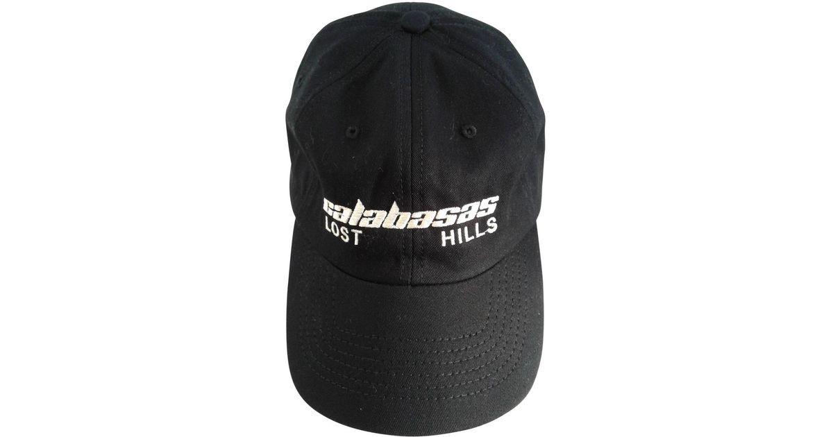 54d4e8c8 Yeezy Hat in Black for Men - Lyst