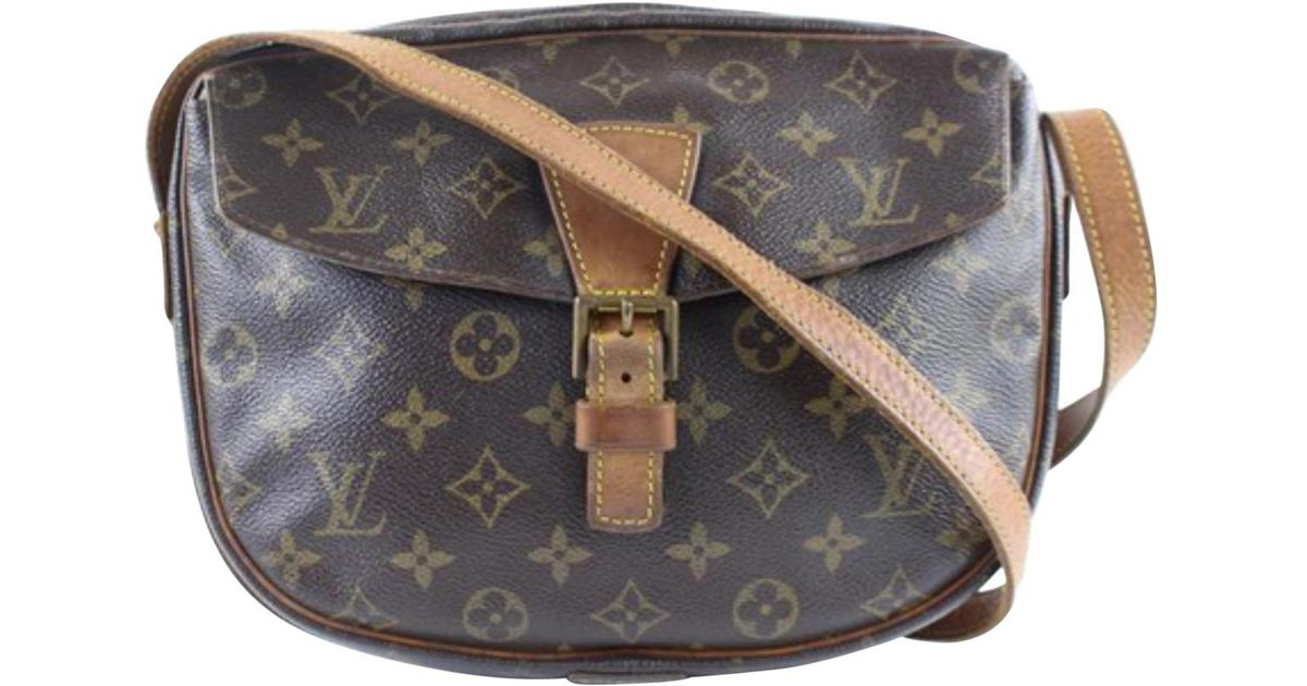 48305ca82219 Louis Vuitton Sologne Cloth Crossbody Bag in Brown - Lyst