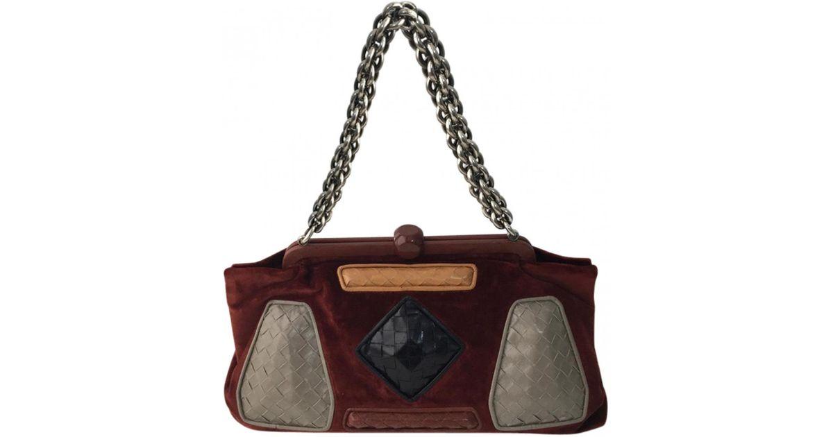 Bottega Veneta Pre-owned - Velvet handbag haACb2l