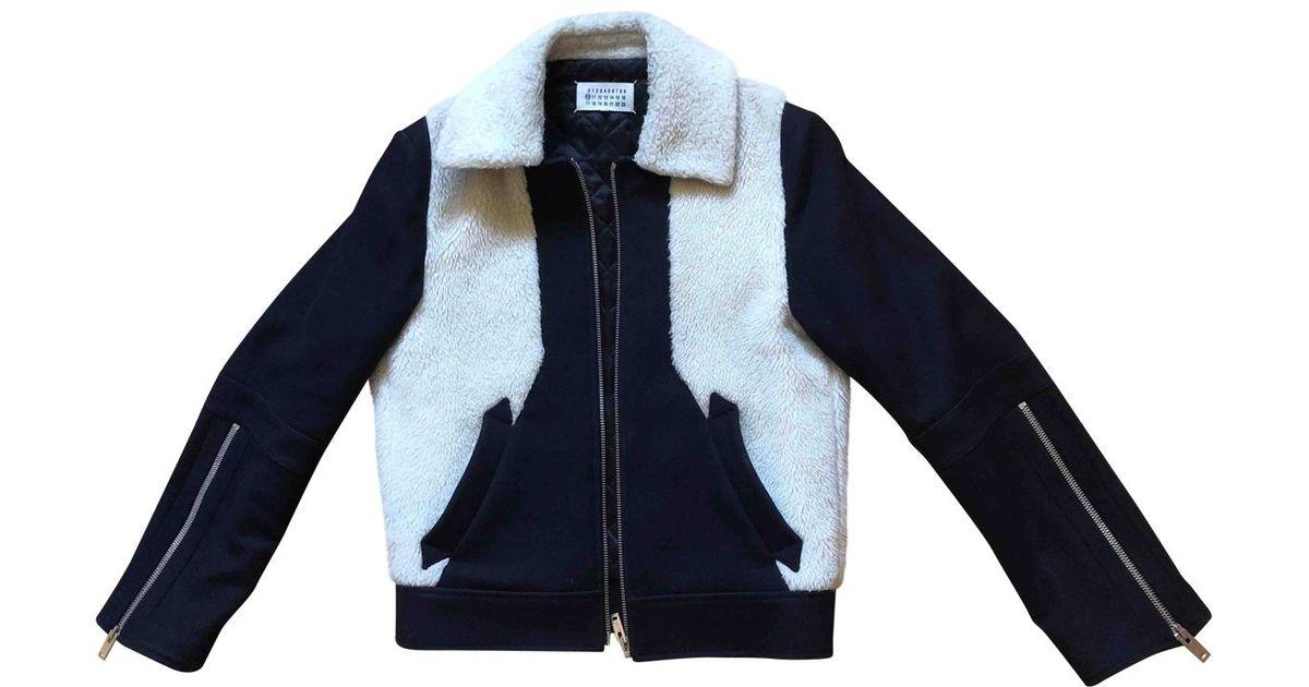 a09e56b58acc Lyst - Maison Margiela Wool Jacket in Black for Men