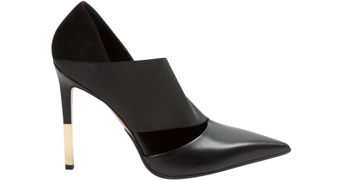 Clearance Big Sale Clearance Enjoy Pre-owned - Leather heels Balmain SzD4Uk