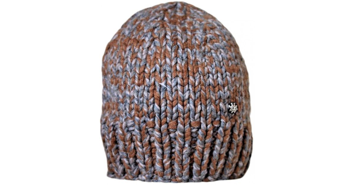 406237ae424 Lyst - Chanel Pre-owned Brown Cashmere Hats in Brown