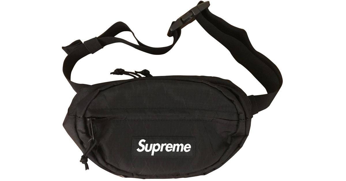 Supreme Bag In Black For Men - Lyst