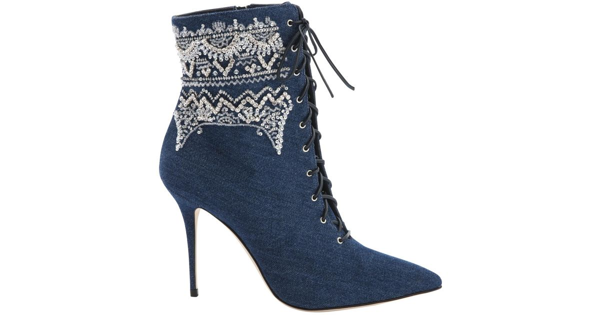 Pre-owned - Cloth ankle boots Manolo Blahnik C9Ndh17