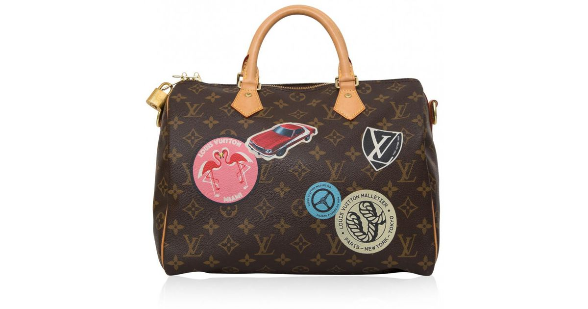 Pre-owned - Speedy leather bowling bag Louis Vuitton F2gfN9