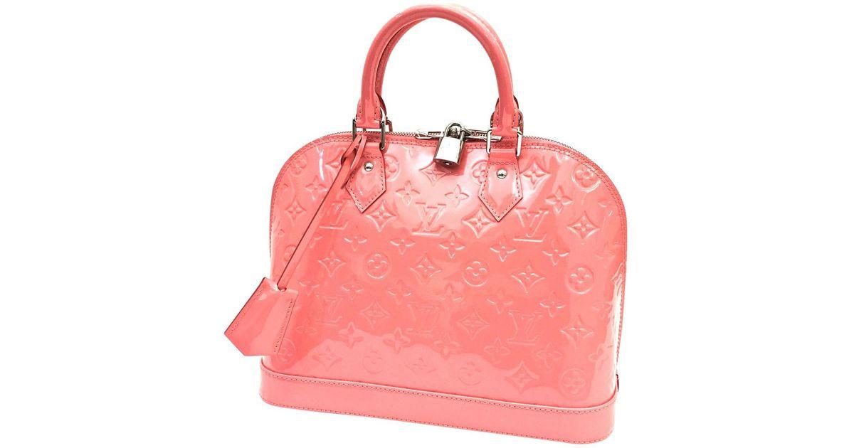 Pre-owned - Alma patent leather handbag Louis Vuitton 6qVzeY