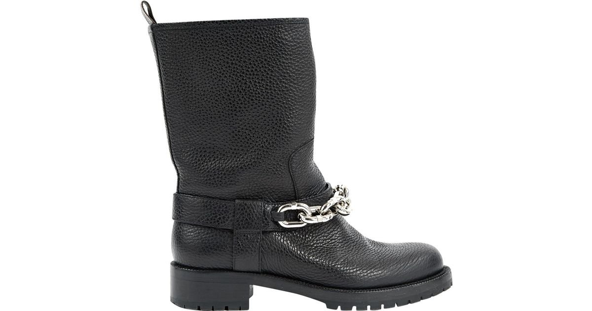 953f574e3fdb Lyst - Louis Vuitton Pre-owned Black Leather Ankle Boots in Black
