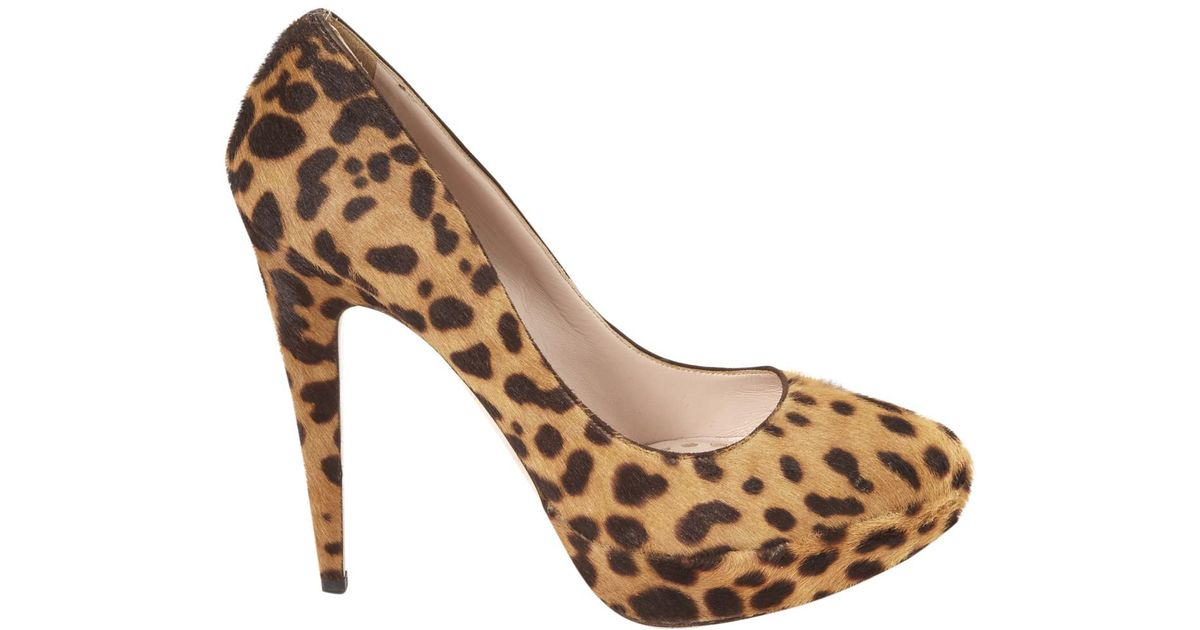 Pre-owned - Pony-style calfskin heels Miu Miu Tdxn16qk1W