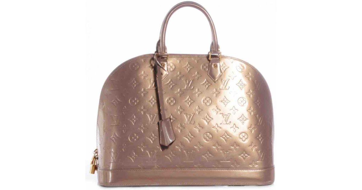 Pre-owned - Alma patent leather handbag Louis Vuitton ClQGQnN