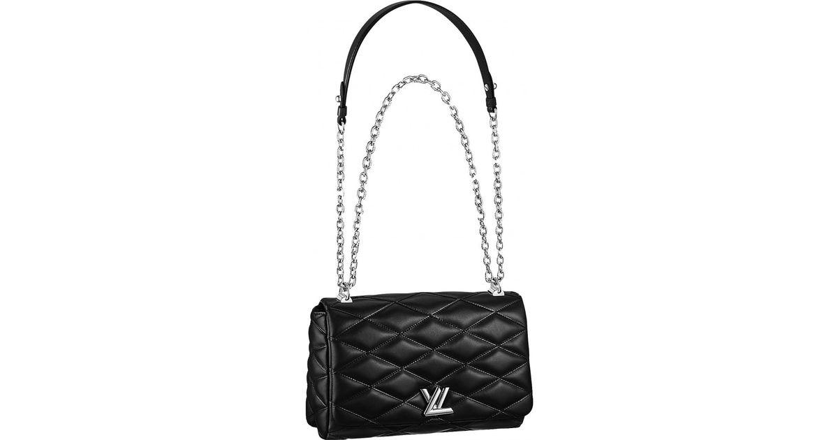 d137fcad6d32 Louis Vuitton Twist Leather Crossbody Bag in Black - Lyst