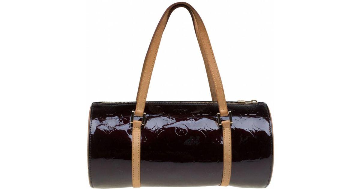 8a0142d64c Sac à main Bedford en cuir verni Louis Vuitton en coloris Noir - Lyst