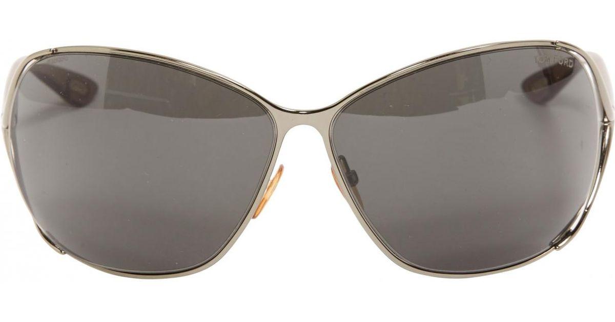 100e18c18f Lyst - Tom Ford Anthracite Plastic Sunglasses in Gray