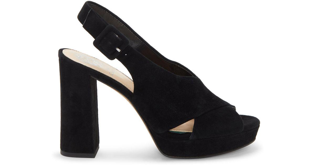 b57931a7289 Lyst - Vince Camuto Javasan – Platform Sandal in Black - Save 1%
