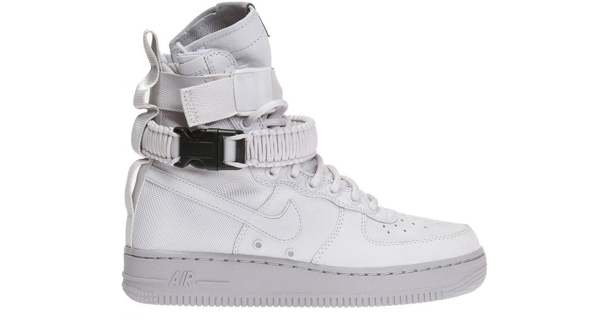 dbf7961d626 Lyst - Nike  sf Air Force 1  High-top Sneakers in Gray