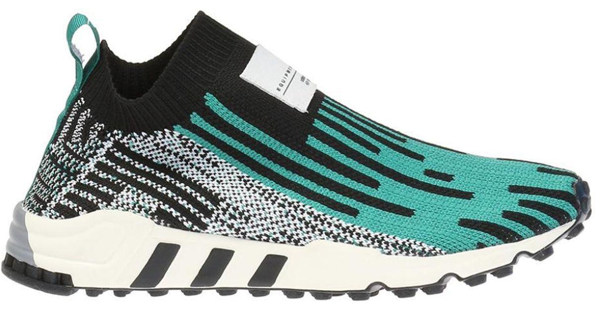 new product d7924 51bb8 Adidas Originals - Green 'eqt Support Sk Primeknit' Sneakers - Lyst