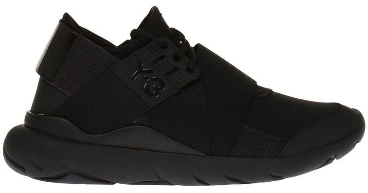 4ae28f1131 Lyst - Y-3  qasa Elle  Sneakers in Black for Men