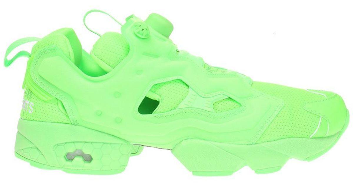 d3bb3a5926233 Lyst - Vetements X Reebok in Green for Men