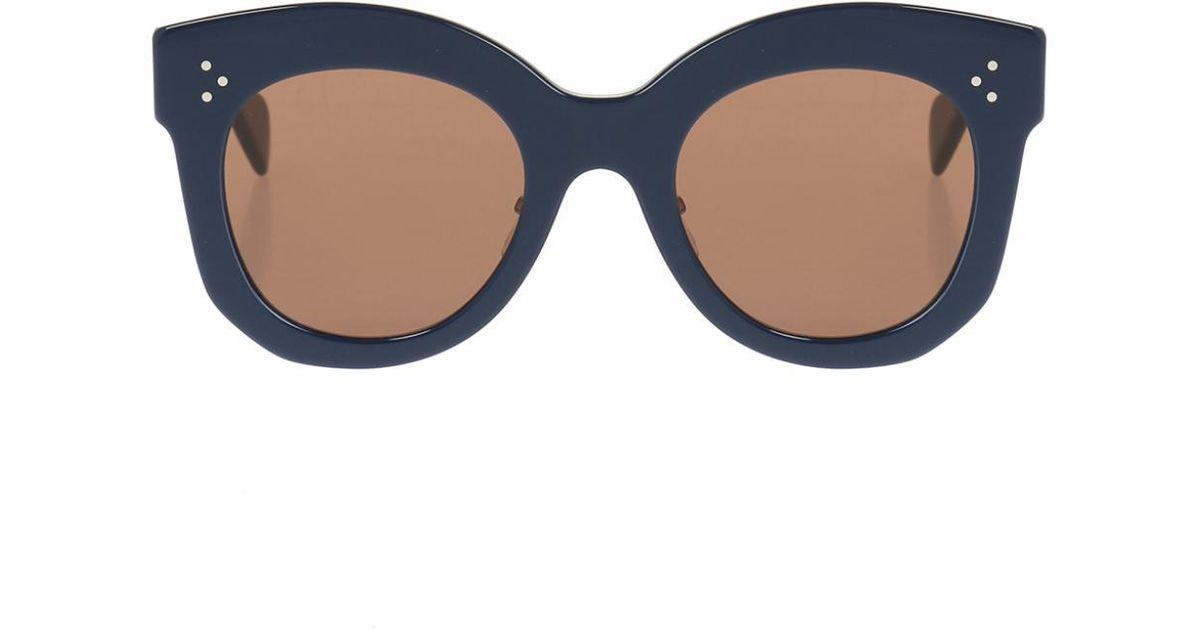1dd5682c274 Lyst - Céline Sunglasses in Blue