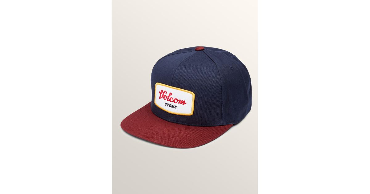 5dcfc5fb ... sale lyst volcom cresticle snapback hat in blue for men save  29.16666666666667 0539f 4c1c5