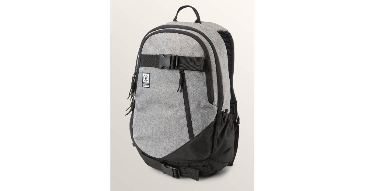 e87af9e75 Lyst - Volcom Substrate Backpack - Black Grey - O/s in Black for Men