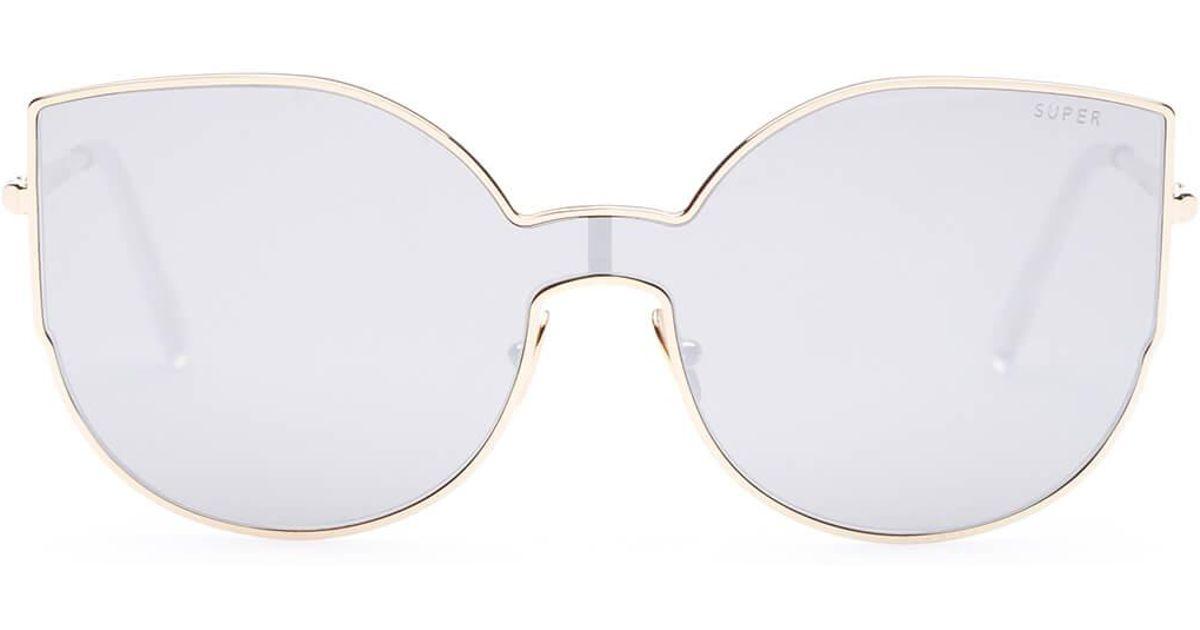 14b385ebfe6 Lyst - Retrosuperfuture Lenz Lucia Sunglasses in Gray for Men
