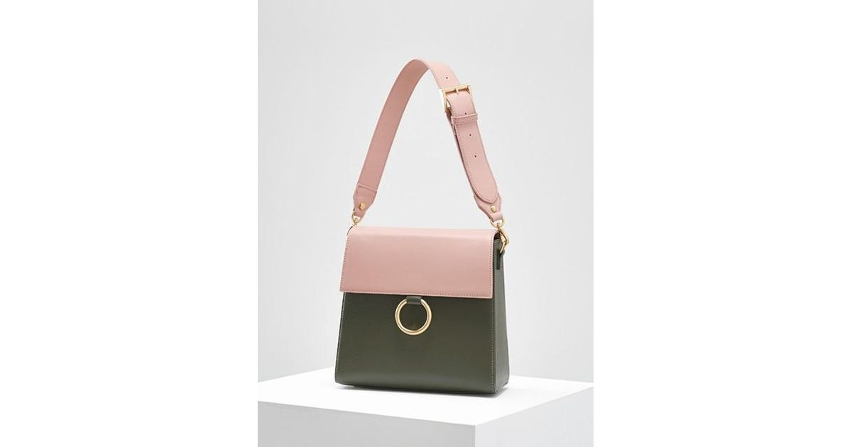309e027203 Lyst - W Concept Two Strap Bag Ver.2 pink-khaki in Pink