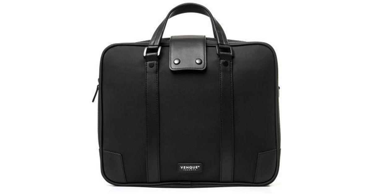 fe37b21e45 Lyst - VENQUE Hamptons Carbon Black Vht302 in Black for Men