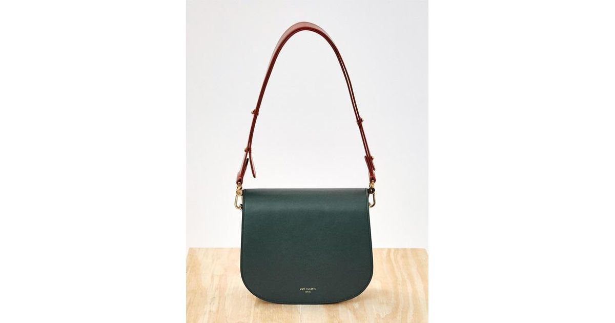 52879ebd7b4a Lyst - Low Classic Color Block Bag Green in Green