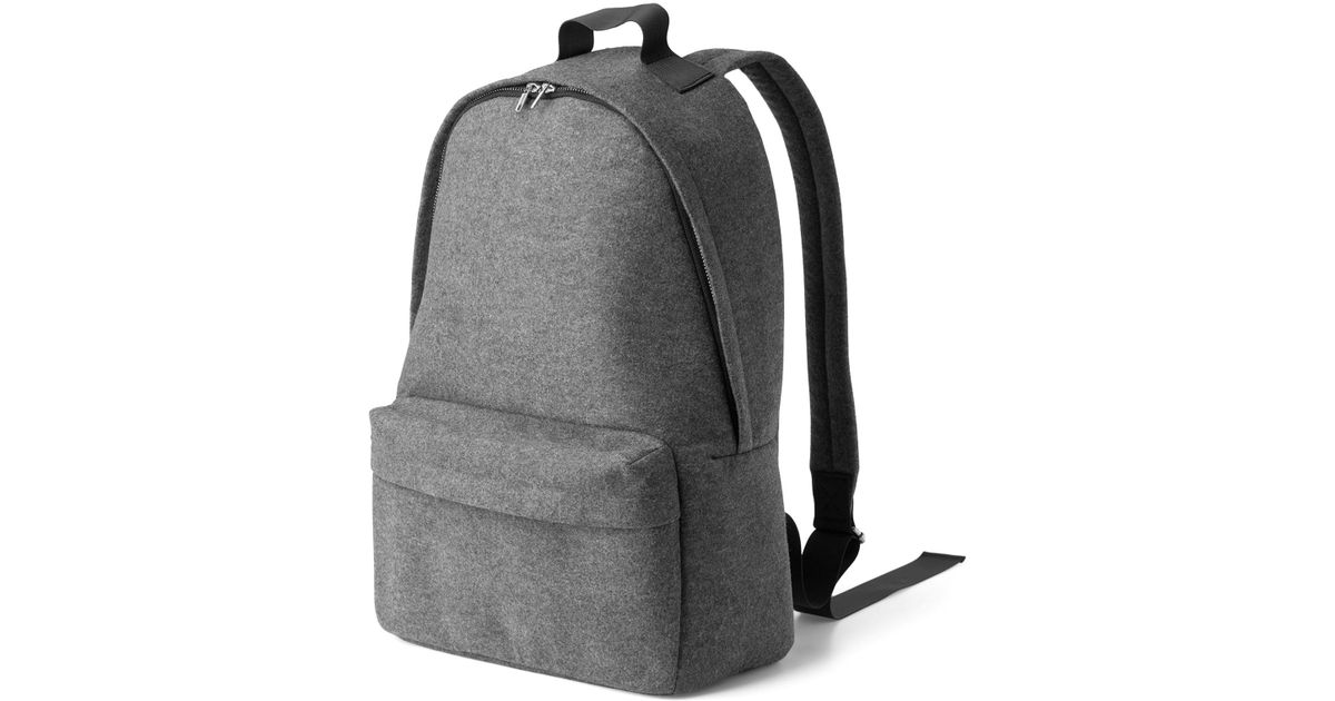 643ab7a2d6 Weekday - Gray Lean Backpack - Lyst