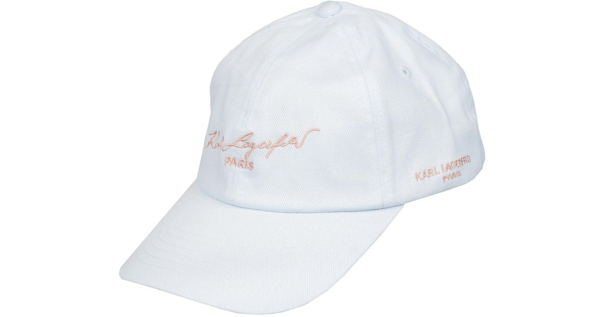 Lyst - Wilsons Leather Famous Maker Cotton Baseball Hat in White 3ad89242fed