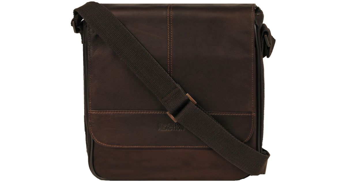 3b138d89d5b Lyst - Wilsons Leather Kenneth Cole Colombian Leather Flapover Tablet Case  in Brown for Men