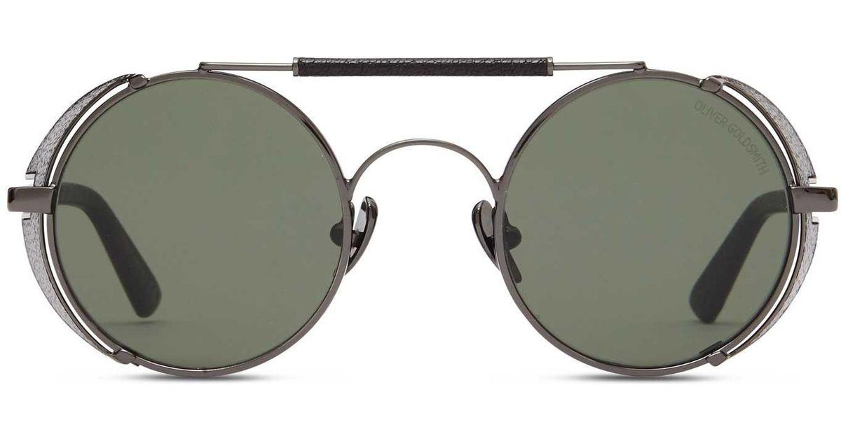0a5d4ac0b8 Oliver Goldsmith Gun Black 1920 s-001 Sunglasses in Black for Men - Save  28% - Lyst