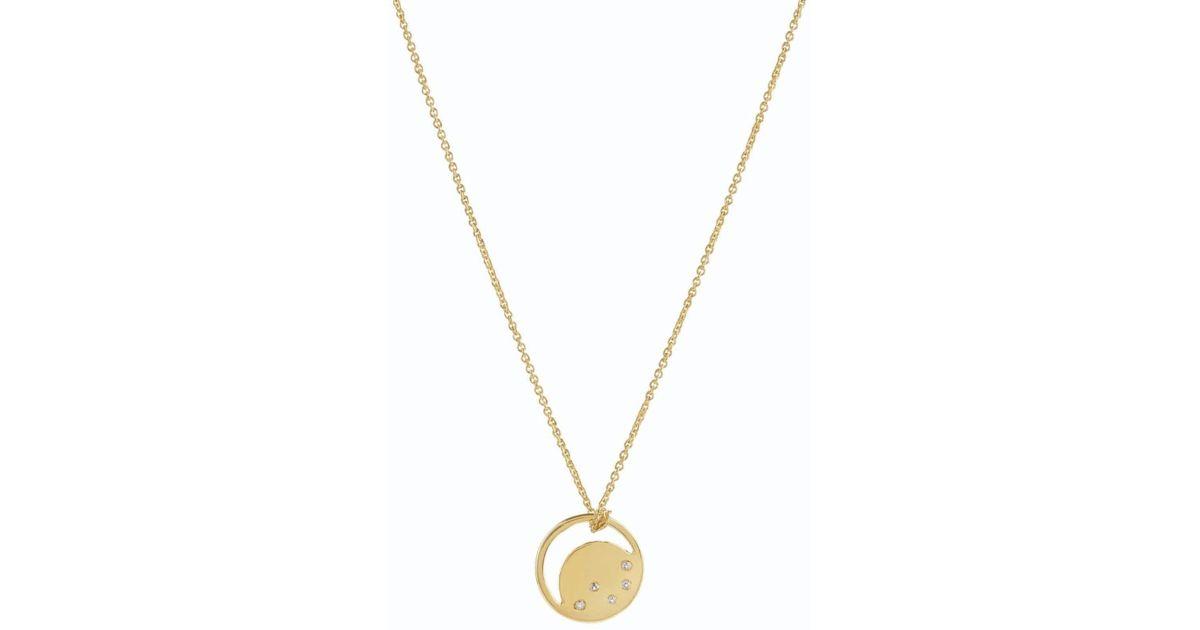 Neola Charleston Gold Necklace 85KzjhkRZ
