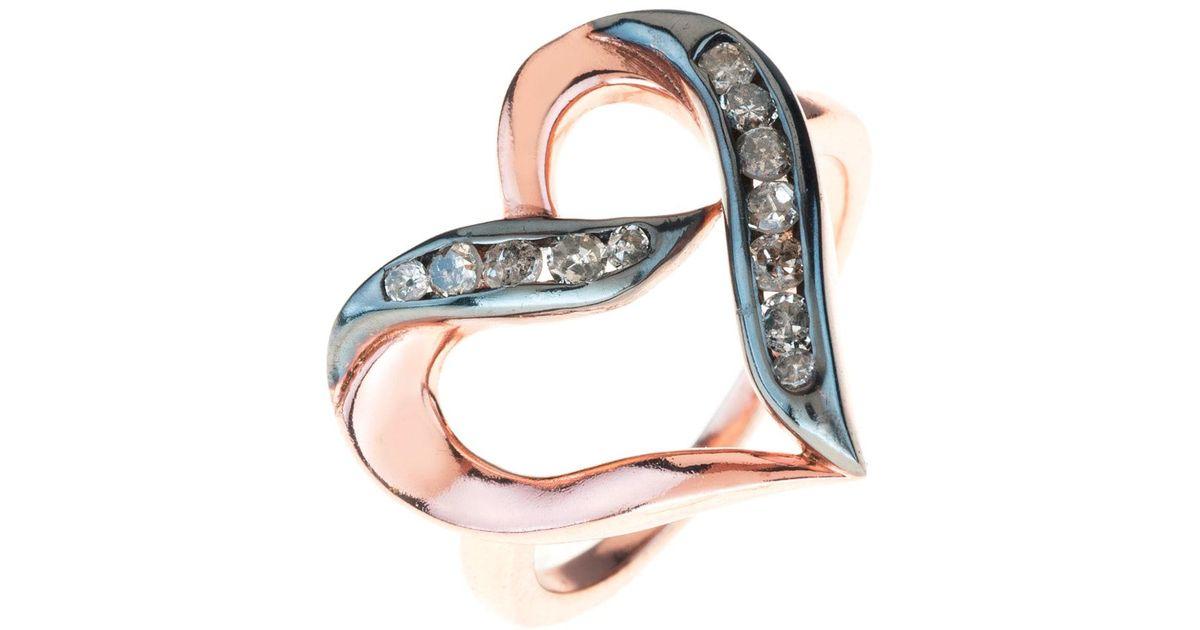 Tiffany Open Heart Ring Uk