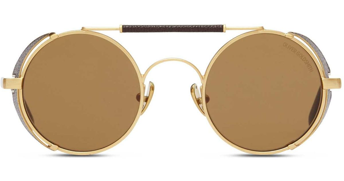 328c5e8a28 Oliver Goldsmith 1920 s Brushed Gold in Metallic for Men - Lyst