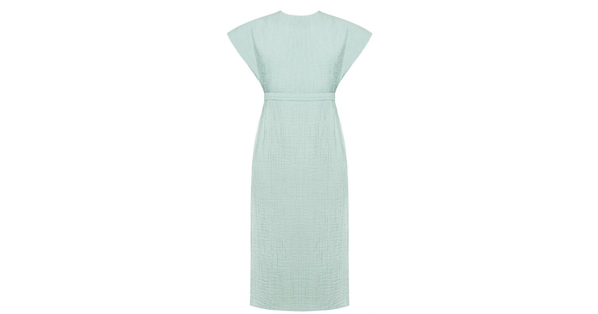 185af6e3121b Lyst - UNDRESS Maudlin Mint Open Back Wedding Guest Occasion Midi Dress in  Green