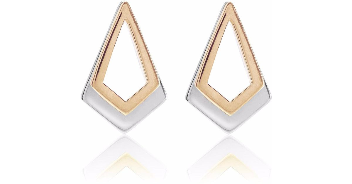 Neola Serenity Rose Gold Earrings tibn5