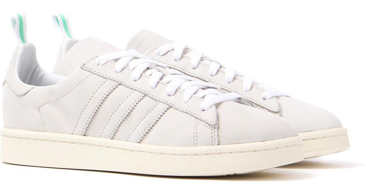 Adidas Originals Campus Vintage White Suede Trainers for men