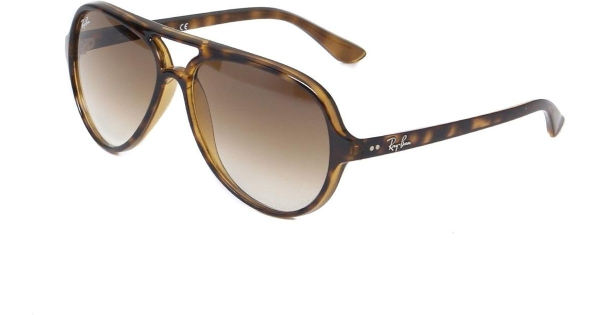... where can i buy lyst ray ban ray ban cats 5000 tortoise sunglasses in  brown 93cf4 65abc57327