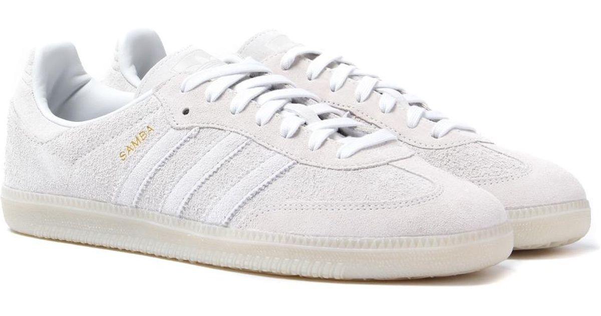 cheaper 150cd 45c65 adidas Originals Adidas Samba Og Crystal White Trainers in White for Men -  Lyst