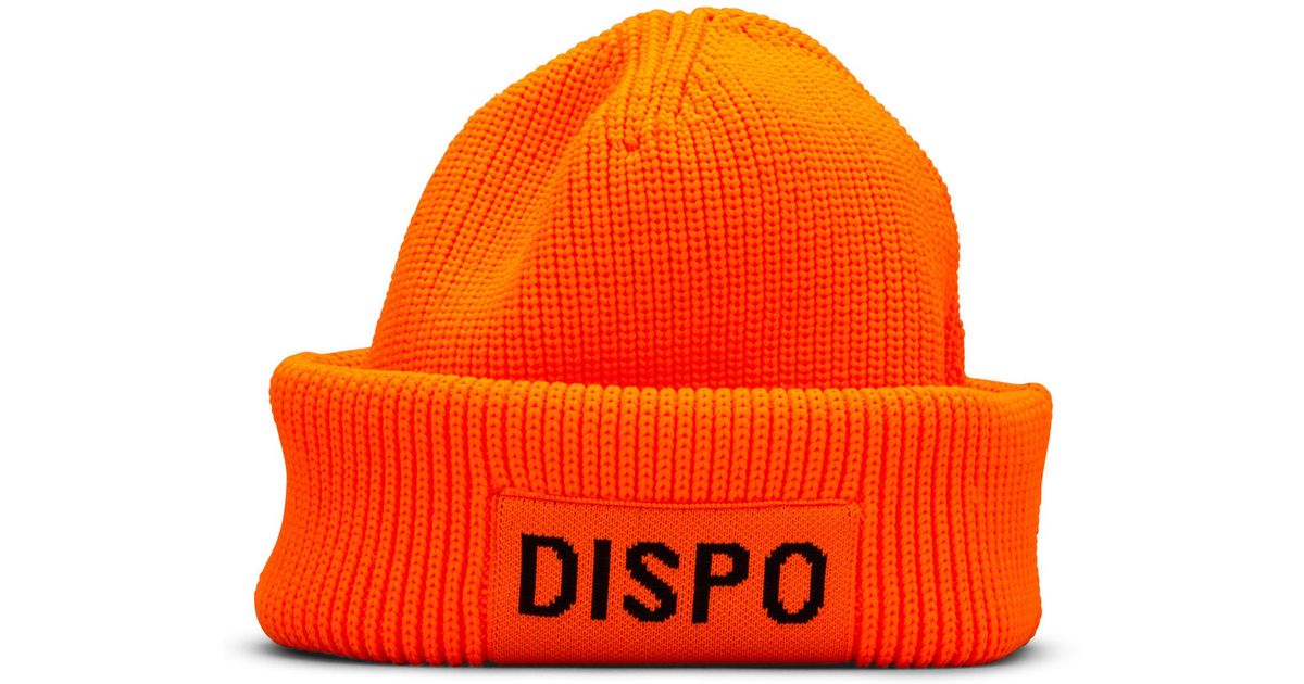 e2e4470c9f57d Lyst - Alexander Wang Fishermans Beanie in Orange for Men