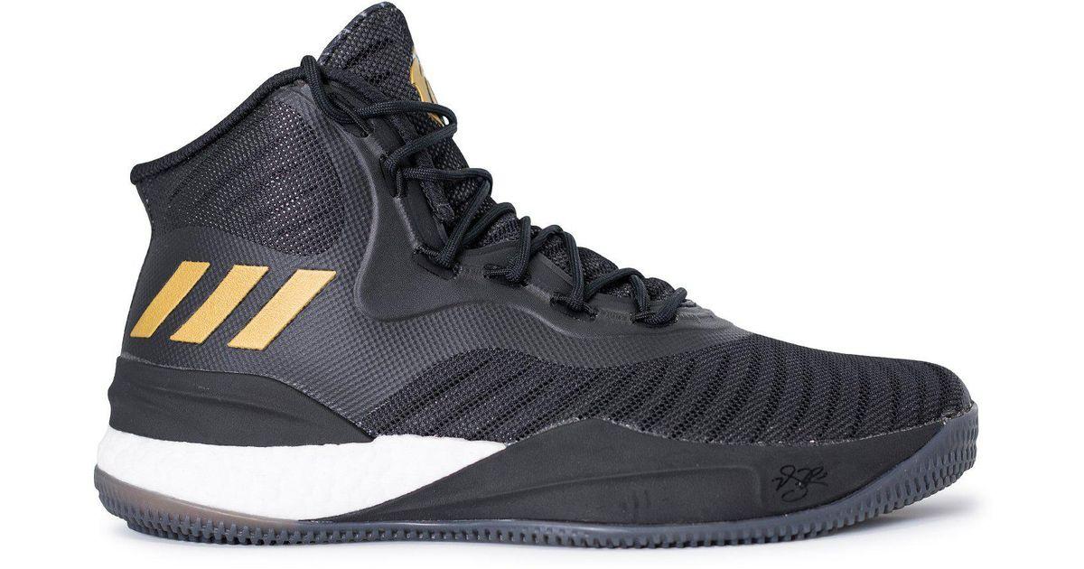 7ad67a02d6d7 Lyst - adidas Originals D Rose 8 in Black for Men