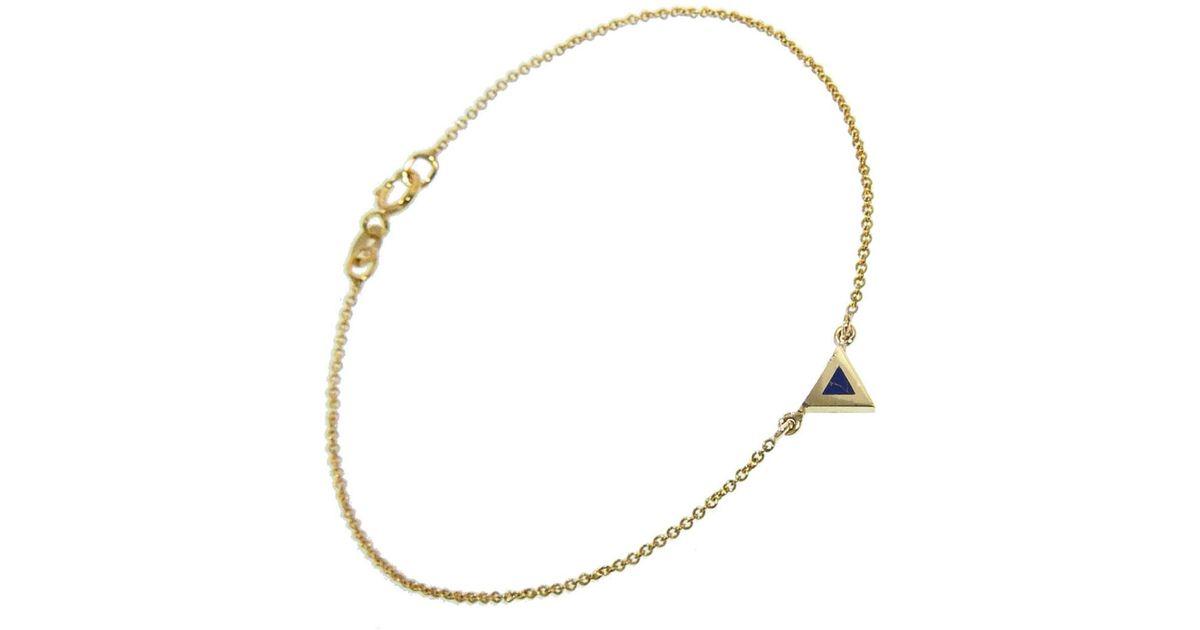 Womens Opal Triangle Bracelet Jennifer Meyer NZZDuuG2B