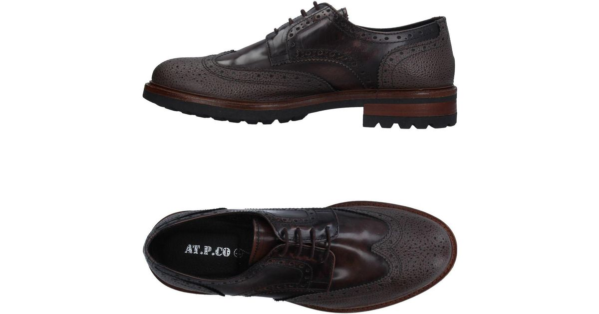 FOOTWEAR - Lace-up shoes AT.P. CO 6HL7Mxg
