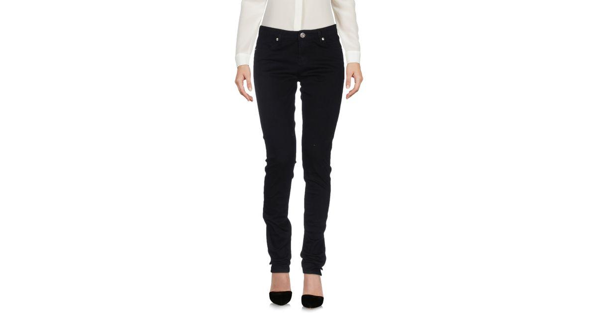 Lyst Silvian Heach Casual Pants In Black