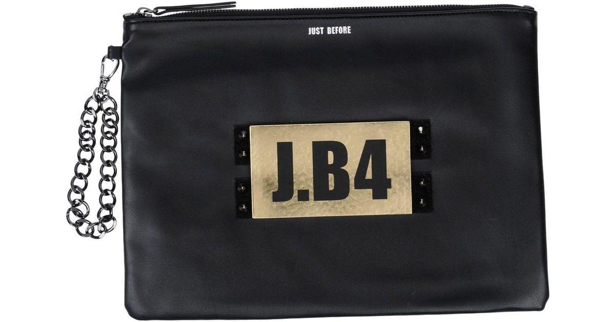 Lyst Black Before Just J·b4 Handbag gqZRI