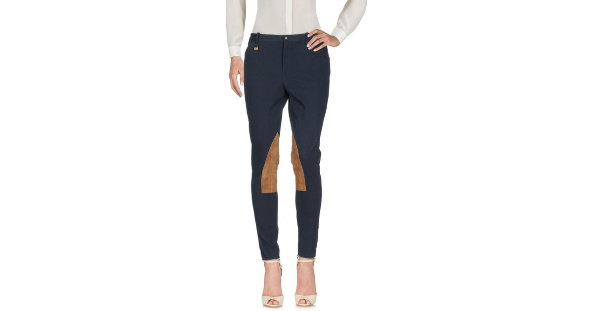 Lauren Ralph Polo Pantalon Bleu En Lyst Coloris qH0fvxw e0a6124db53